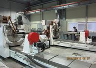 30 RPM Stainless Steel Well Screen Wedge Wire Screen Machine With Mitsubishi Control System