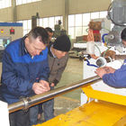 Profile Wire Screen Pipe Wire Mesh Manufacturing Machine 0.03MM Slot Precision