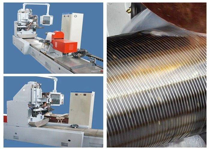 CNC Control Cylinder Screen Welding Machine ,  Wedge Wire Screen Machine