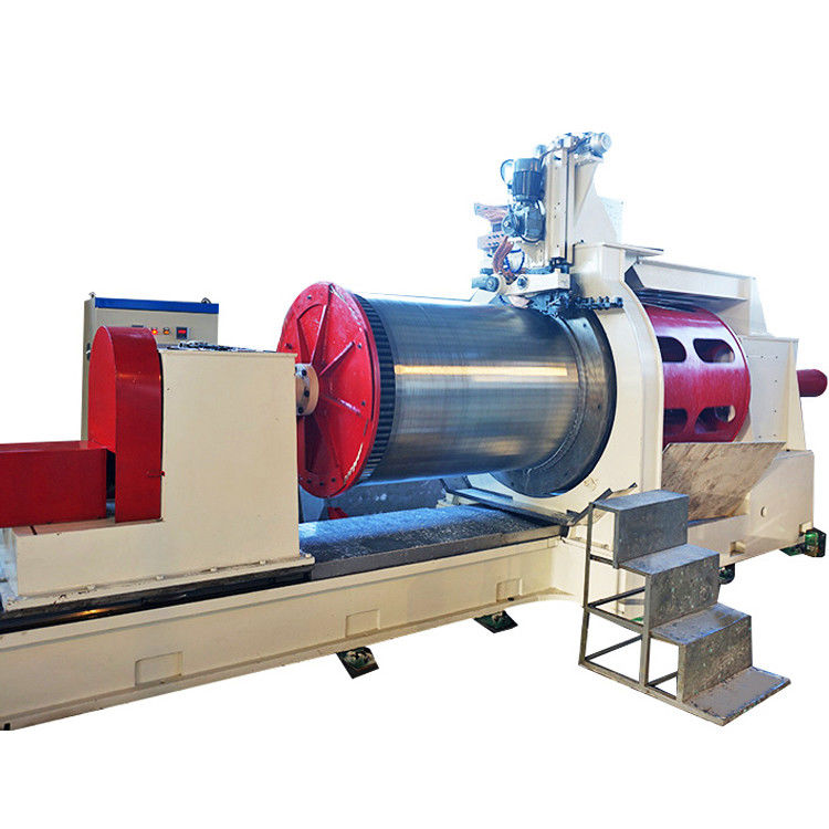 Mitsubishi System Stainless Steel 0.05mm Slot Wedge Wire Screen Machine With 650MM Diameter