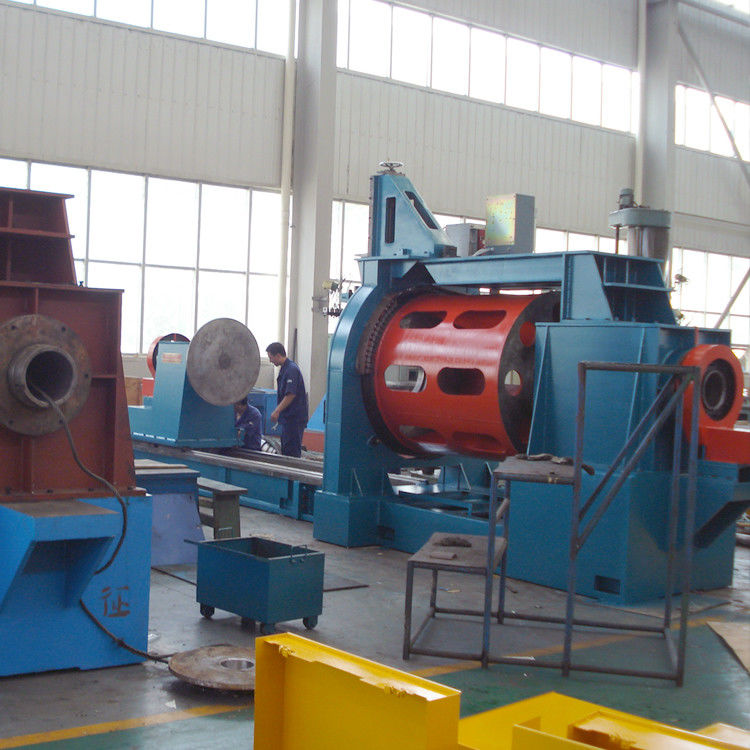 Dia 600 mm Water Well Screen Welding Machine For Water Treatment Industry
