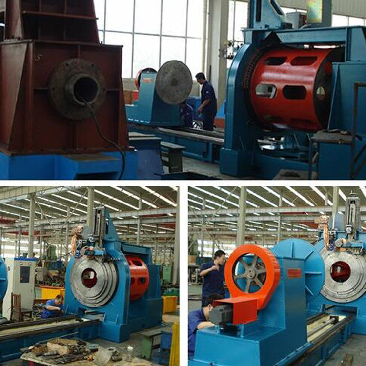 80 - 300mm Diameter Weld Wire Mesh Machine For Oil Well Sand Control
